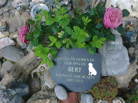 Pet Memorial Ideas For The Garden Memorial Garden Ideas For Babies Photograph Slate Pet Memo