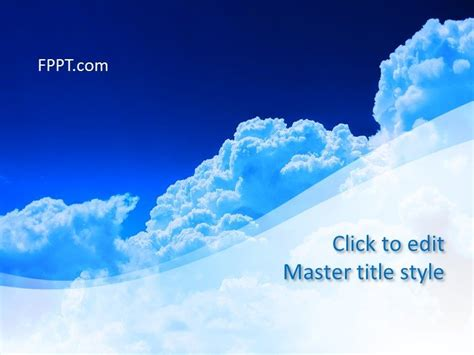 Air Powerpoint Template Free Air Powerpoint Template Free Powerpoint Templates