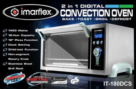 digital convection oven promo  imarflex