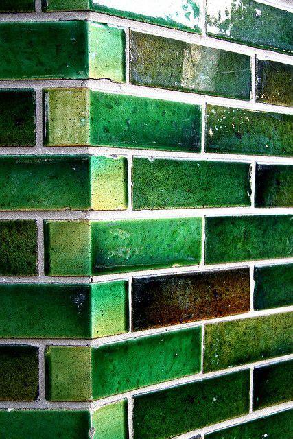 green tiles tiles materials handmade tiles   colour
