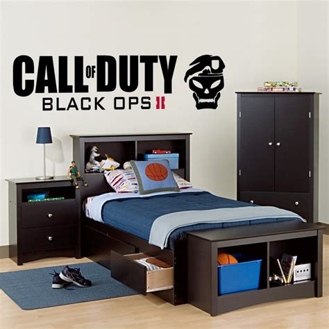 call of duty bedroom decor call of duty black ops 2 wall decal art sticker boy s