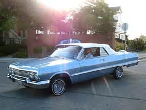 1963 Chevrolet Impala Ss Convertible 1963 Chevrolet Impala Ss Convertible Custom 5gvv094 1