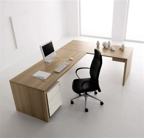 Simple Modern Desk Minimalist Computer Desk