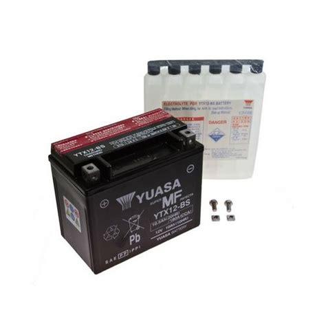 Motorrad Batterie Bef Llen Und Laden by Yuasa Batterie Ytx12 Bs Honda Vfr 750 F Rc36 Bj 1993 Ebay