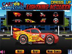 Lightning Car Play Free Play Lightning Mcqueen Dress Up Y8
