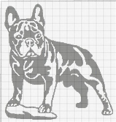pattern english to french 8 best cross stitch french bulldog images on pinterest