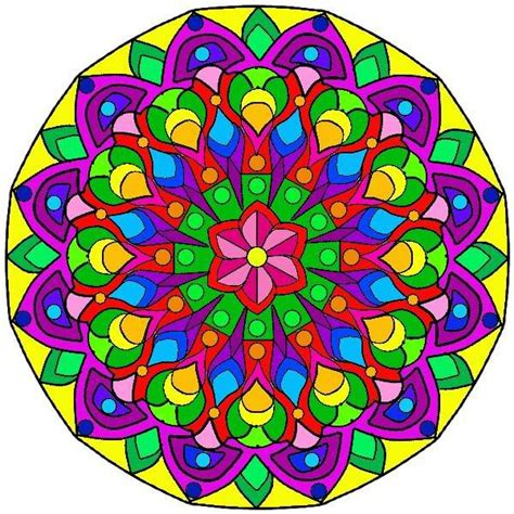 how to color mandalas colored mandala 1 photo mandala2colored jpg school