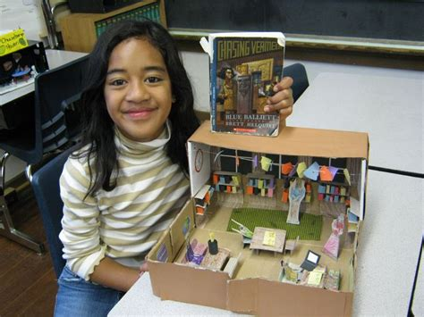 diorama book report 24 best diorama book reports images on