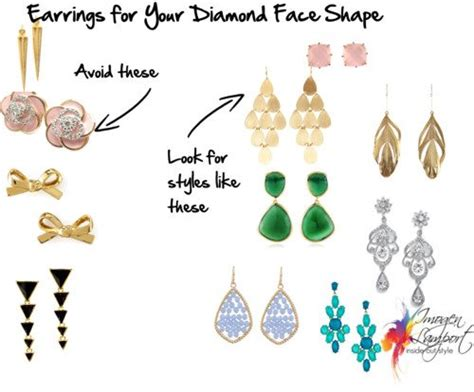 best earrings for diamond shaped faces earrings for your face shape diamond