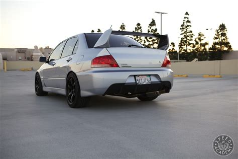 mitsubishi jdm mitsubishi evolution jdm rear bumper conversion speed