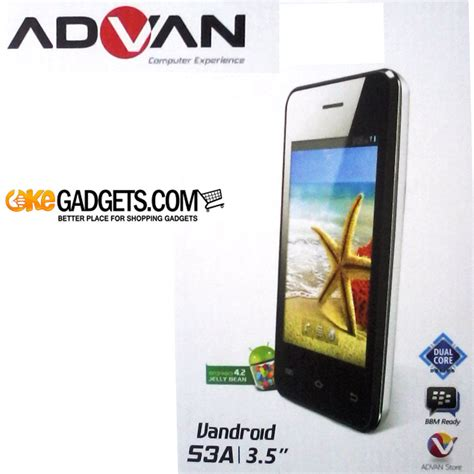 Advan Vandroid S3a smartphone advan vandroid s3a android jellybean dualcore