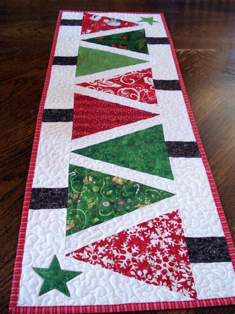 google christmas tree shop kitchen table runners not xmas quilted table runner modern trees narrow runner and green patchwork bright and