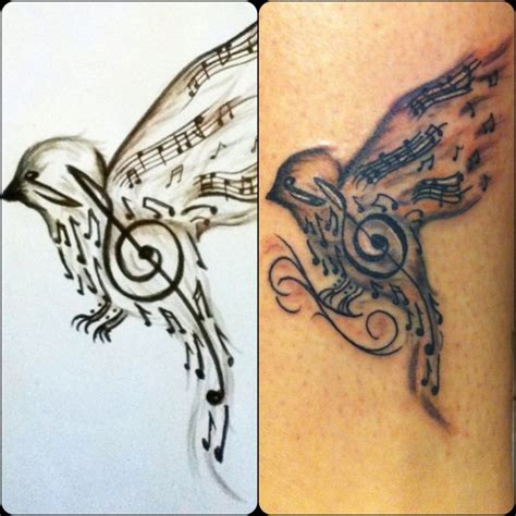 songbird tattoo designs my
