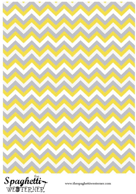 free printable yellow paper 7 best images of free printable yellow chevron paper