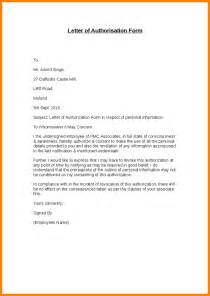 6  authorisation letters ? job bid template