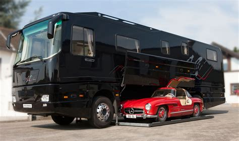 volkner mobil performance 10 coolest car carrying motorhomes