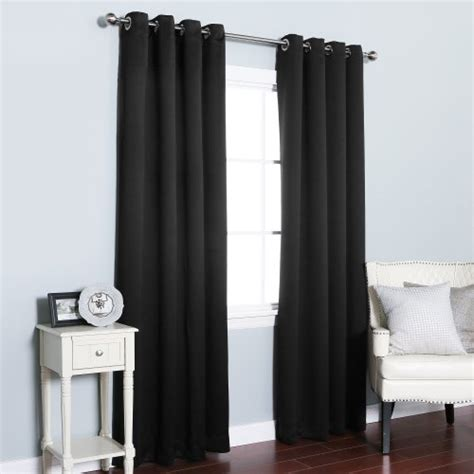 black thermal curtains best home fashion thermal insulated blackout curtains