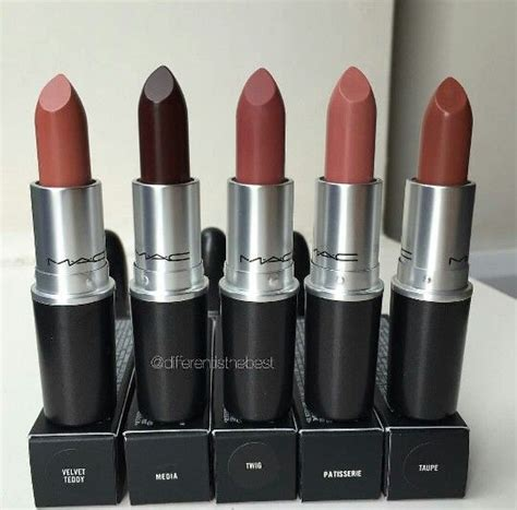 Mac Eyedhadow Eyeliner 2in1 Color mac lipsticks velvet teddy media twig patisserie taupe for gift make up neeeds