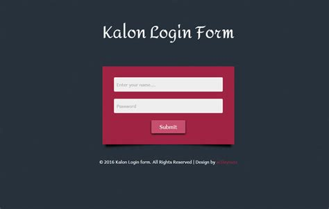 responsive login form template 40 powerful free css3 html5 login form templates dovethemes