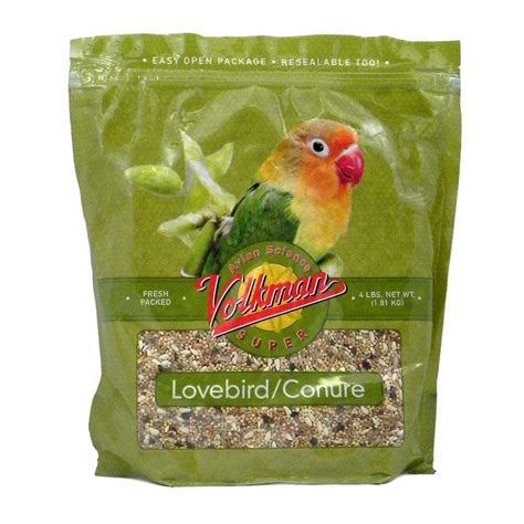 Nutri Seed Lovebird 500g volkman avian science lovebird conure seed mix 4lb bird food parrot macaw at arcata pet