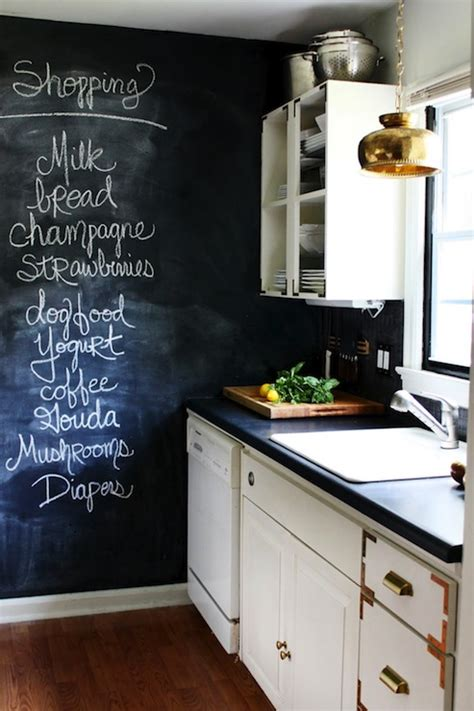 kitchen chalkboard wall vintage kitchen the hunted