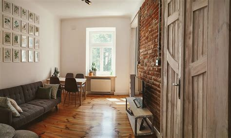 eclectic loft design apartment  central lublin flat