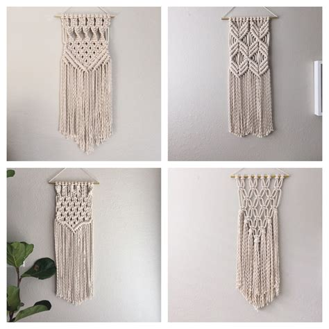 Macrame Kit - macrame kit macrame wall hanging kit diy gift kit for macrame