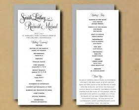 wedding program sle template 301 moved permanently