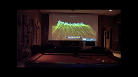 150 Yard Home Design by Home Theater 200 Inch Projection Screen Youtube