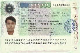 membuat visa schengen italia visa application requirements italian employee student