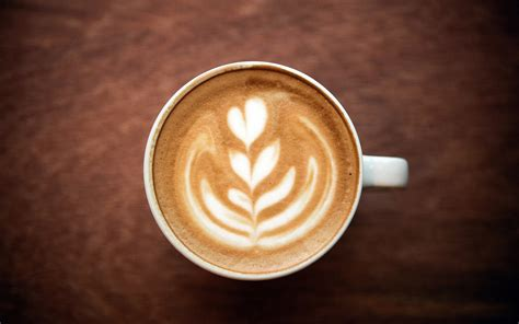 coffee style wallpaper 바탕 화면 다운로드 1920x1200 카푸치노 커피 거품 패턴 심장 컵 hd 배경