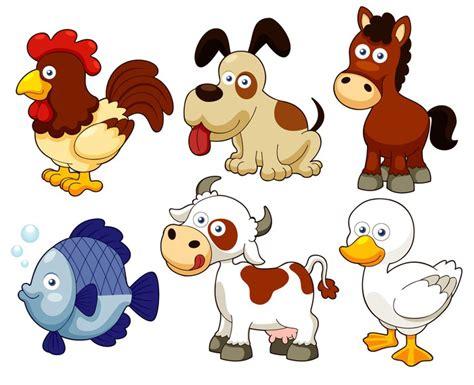 imagenes de animales bebes animados fotomural ilustraci 243 n de los animales de granja de dibujos