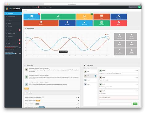 dashboard template free 20 free bootstrap admin dashboard templates 2018 colorlib