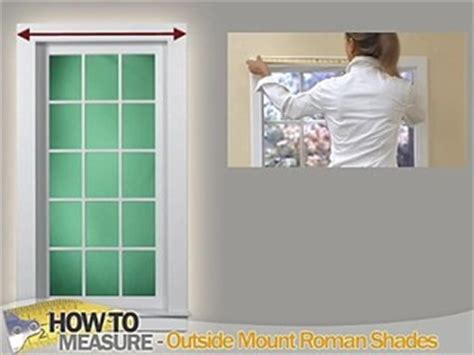 how to measure for shades outside mount how to measure for outside mount shades blinds