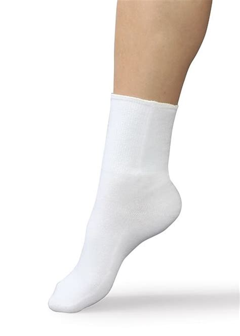 smart knit smartknit coolmax seamless diabetic crew socks