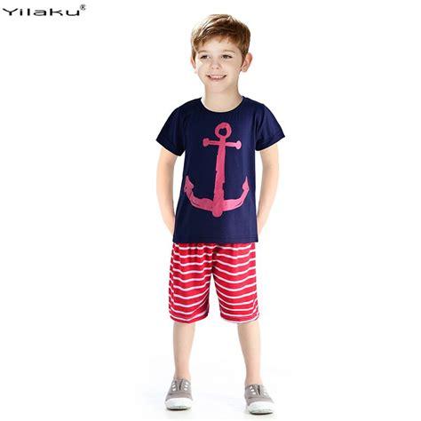 C788 Kid Cotton Fashion Set 2016 boys clothing set children sport suits children s