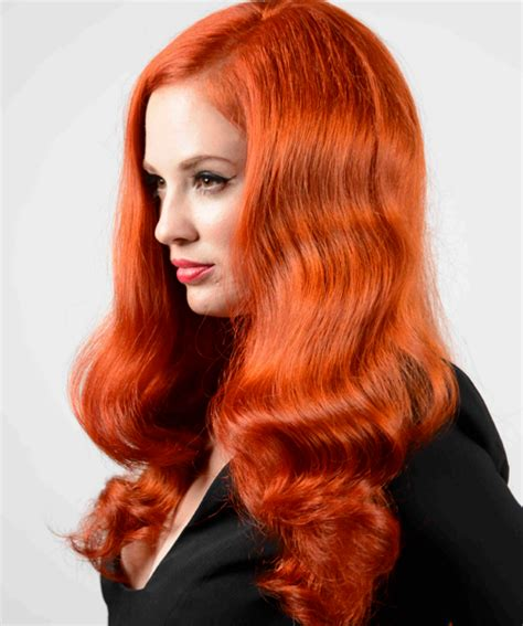 Ginger Hair Color | vivid ginger hair colors ideas