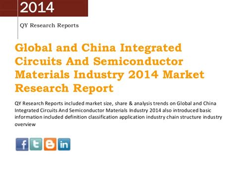 global integrated circuit market china global integrated circuits and semiconductor materials market