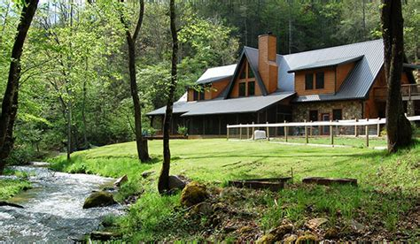 Creek Log Cabin by Lands Creek Log Cabins Cabin Rentals In Bryson City Nc