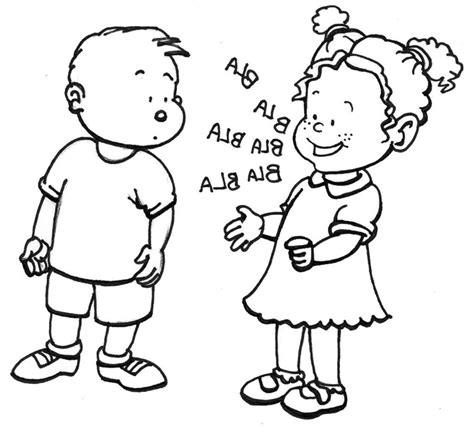 coloring book for child pdf coloring page children at school talking coloring