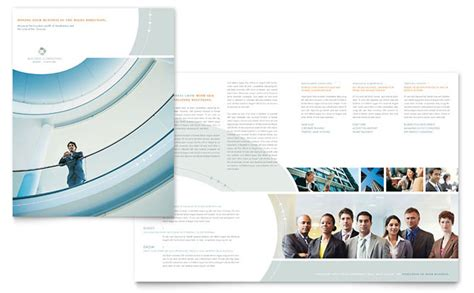 business consulting template business consulting brochure template design