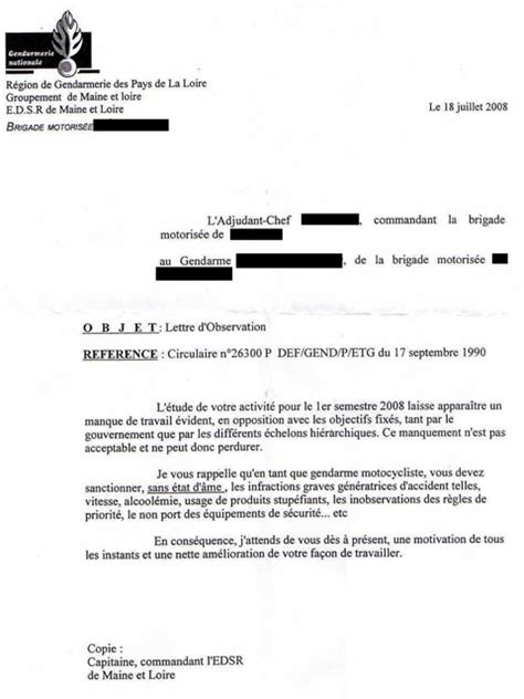 Lettre De Motivation De Gendarme quot s 233 curit 233 quot routi 232 re les gendarmes somm 233 s de faire du
