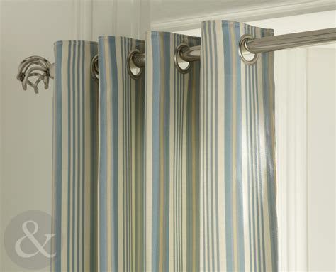 pre made curtains shabby chic striped curtains ready made fully lined