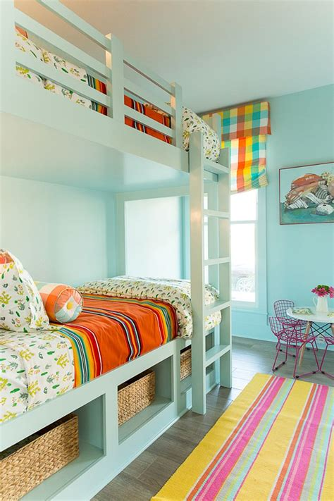 turquoise childrens bedroom 219 best images about bunk rooms on pinterest bunk bed