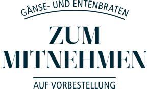 Haus Zum Mitnehmen by Gans To Go Alster Au