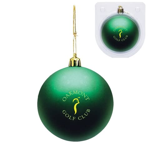 shatter resistant ornament bnoticed put a logo on it