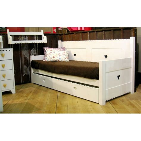 bed with pull out bed pull out bed drawer for mer montagne sofa day bed