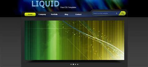 liquid layout html css 25 free html css web templates