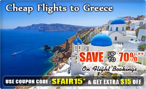 flights to greece get cheap flights to greece airfare deals with smartfares