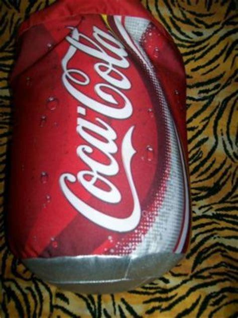 coca cola coke plush microbead squishy 14 quot soda can pillow